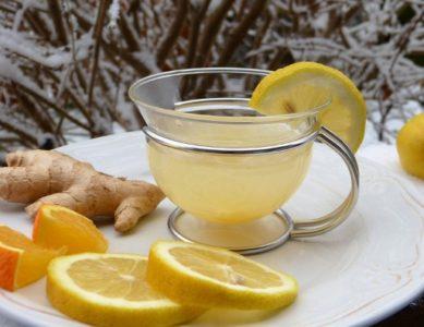 ginger root drink