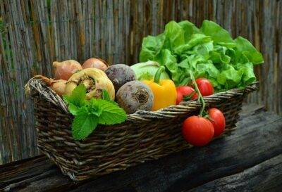 fresh healthy vegetables give you a better diet